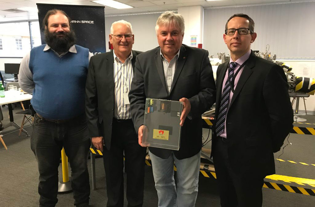 South Australian Senator Rex Patrick visits Neumann Space