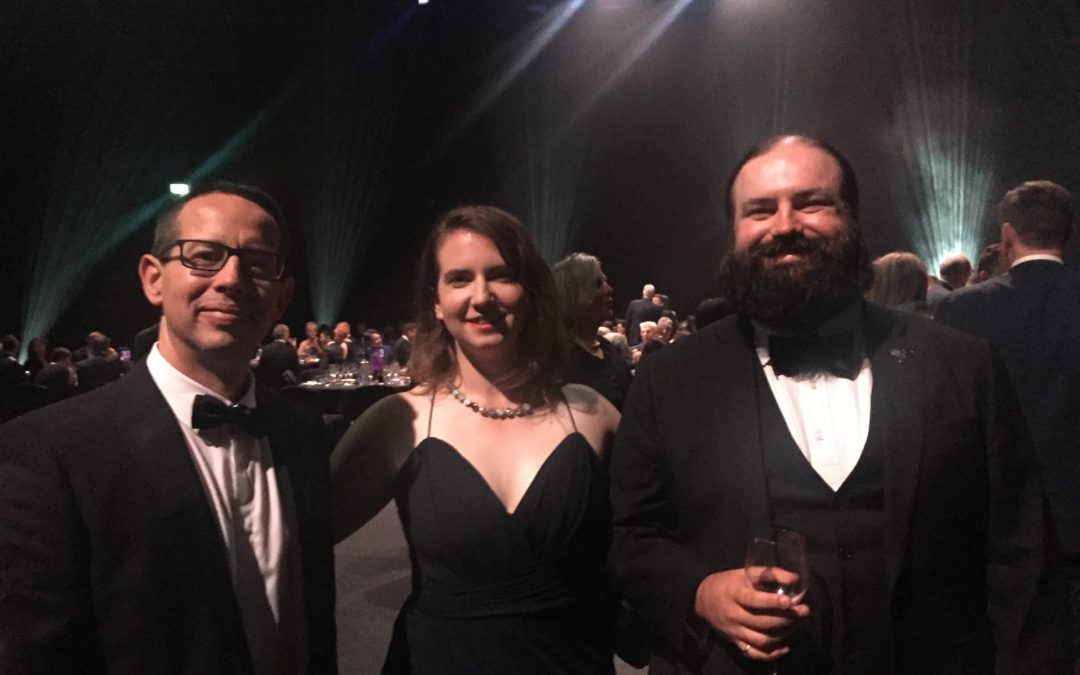 First Space State dinner attended by Neumann Space